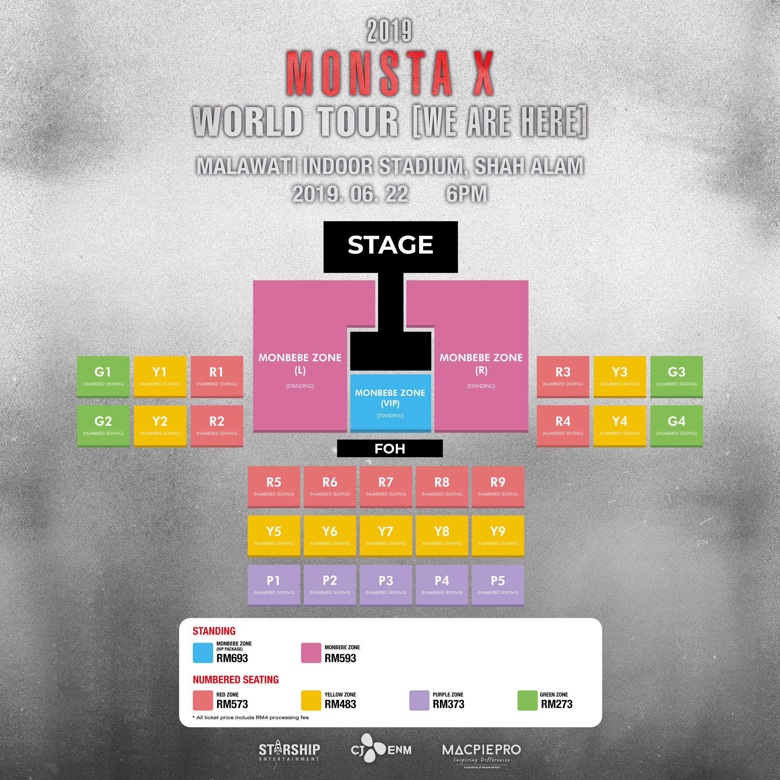 CONTEST] Win Tickets To MONSTA X's Concert In Kuala Lumpur