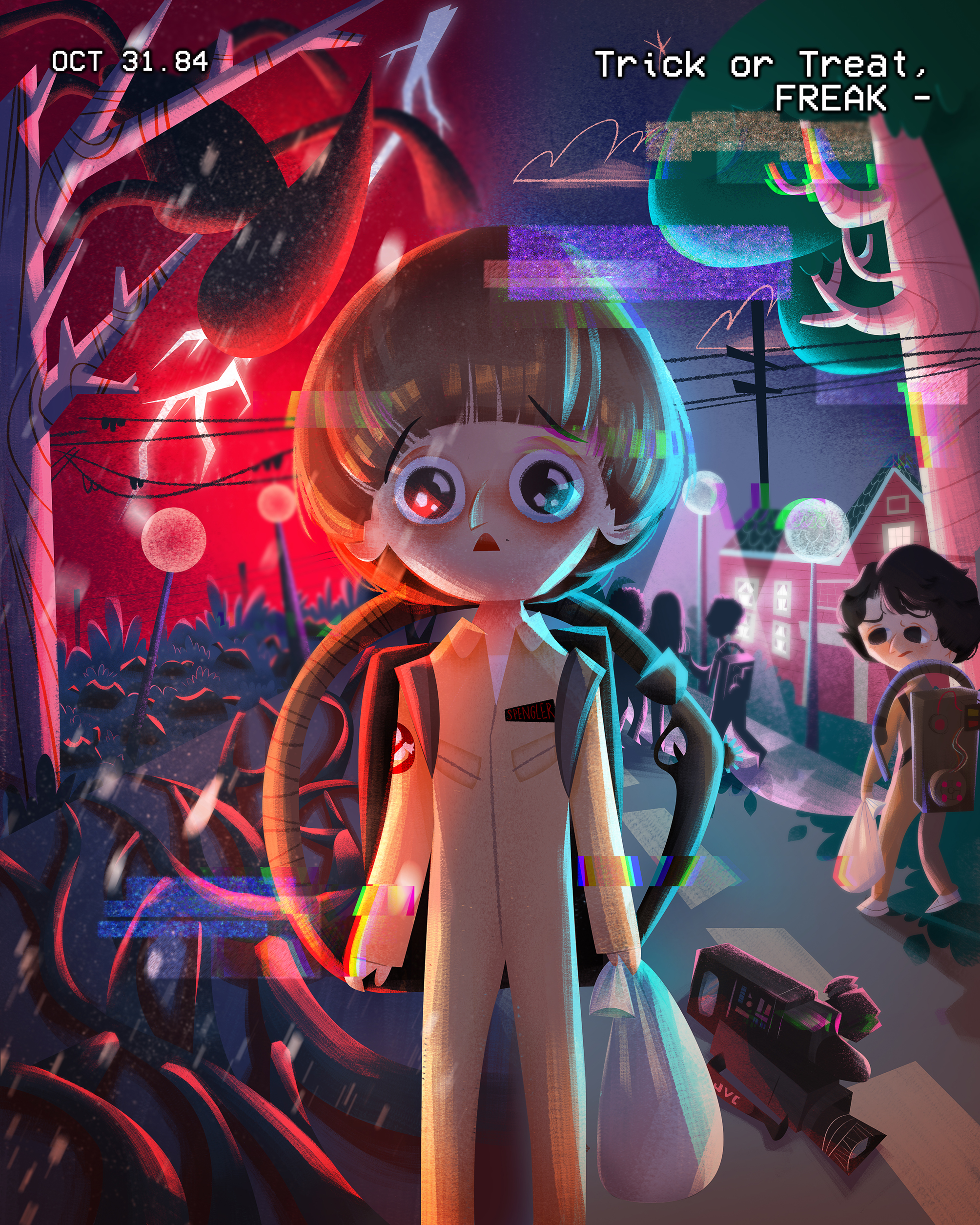 A Malaysian Created This Stranger Things Fan Art That Was