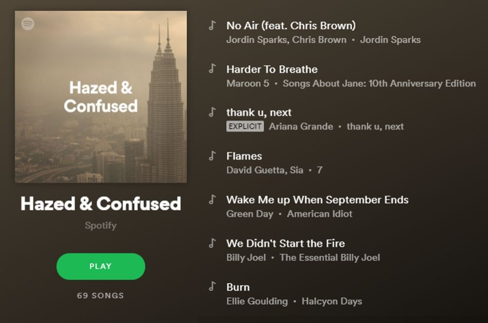 Spotify Is Also Feeling 'Haze & Confused' Like The Rest Of Us With The New Playlist