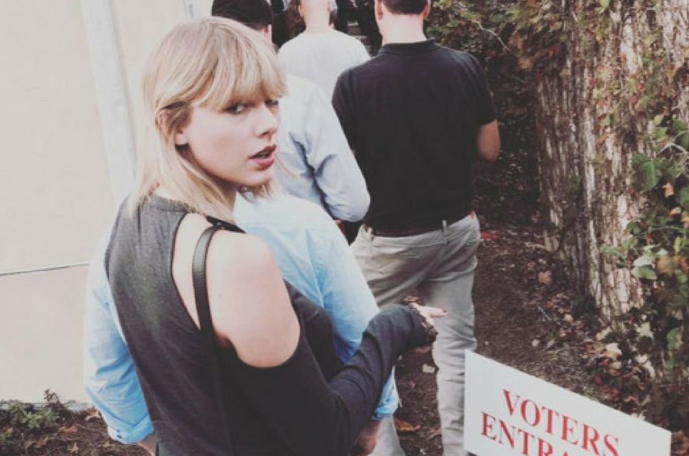 Celebrities Headed to the Polls!