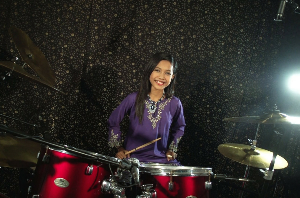 This 13-Year-Old Drummer is Not Your Average Malaysian Teen