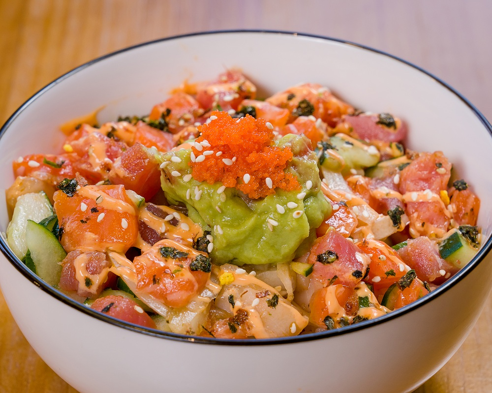 California Poke Bowl by Eatomo.