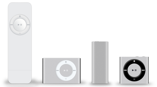 But the iPod shuffle never saw an update that introduced Bluetooth support.