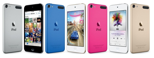 The latest iPod touch.