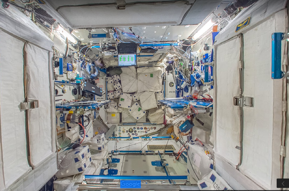 You Now Get To Visit The International Space Station Using Google Maps