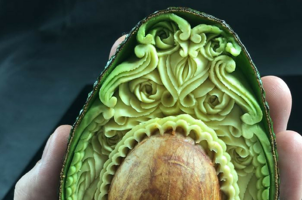 Avocado Art Might Just Be The Next Big Thing