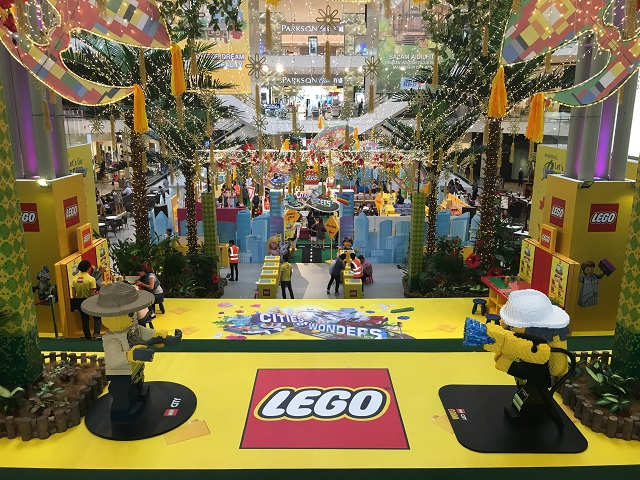 Pavilion KL has been transformed into a life-size LEGO city that looks just like 'The Lego Movie' brought to life!