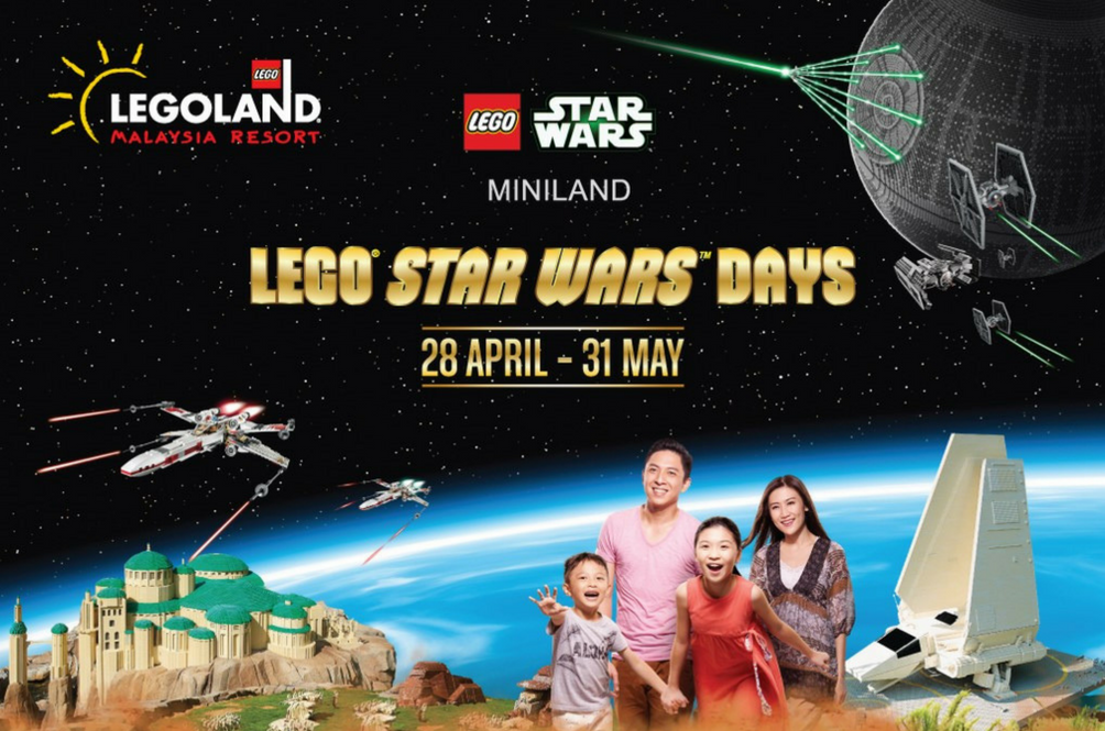 Legoland Malaysia Is Set To Hold The Biggest 'LEGO Star Wars Days' This Year