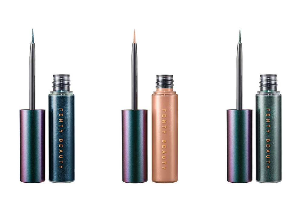 The eyeliner comes in three otherworldly shades with a precise tip and smooth formula.