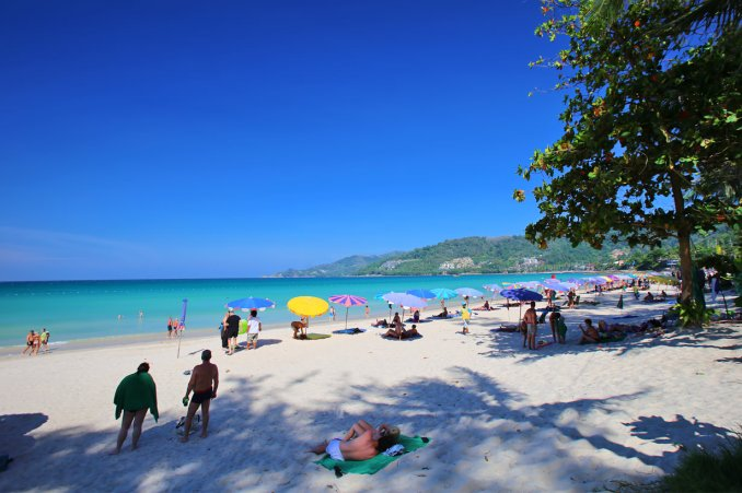 Patong Beach looks good as new.
