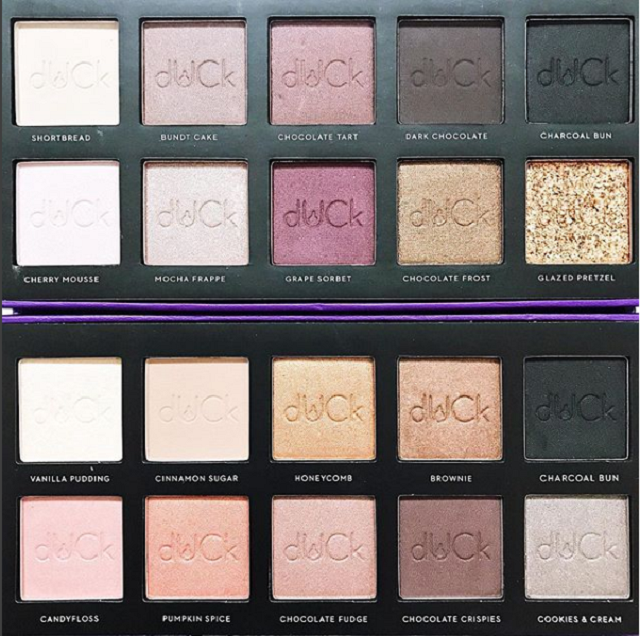 #AllEyeAsk eyeshadow palettes in Nude and Smokey.