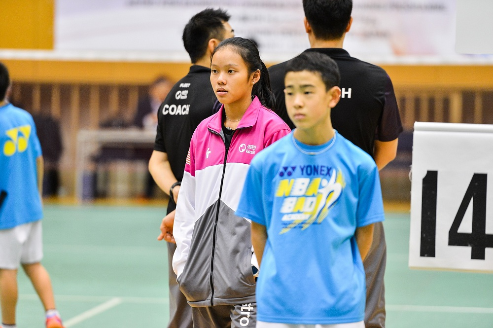 """I love the adrenaline rush I get from playing badminton,"" Myisha said."