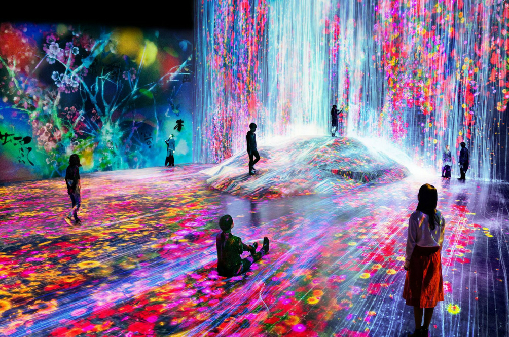 This Digital Art Museum In Tokyo Is So Instaworthy, You Wouldn't Want To Leave