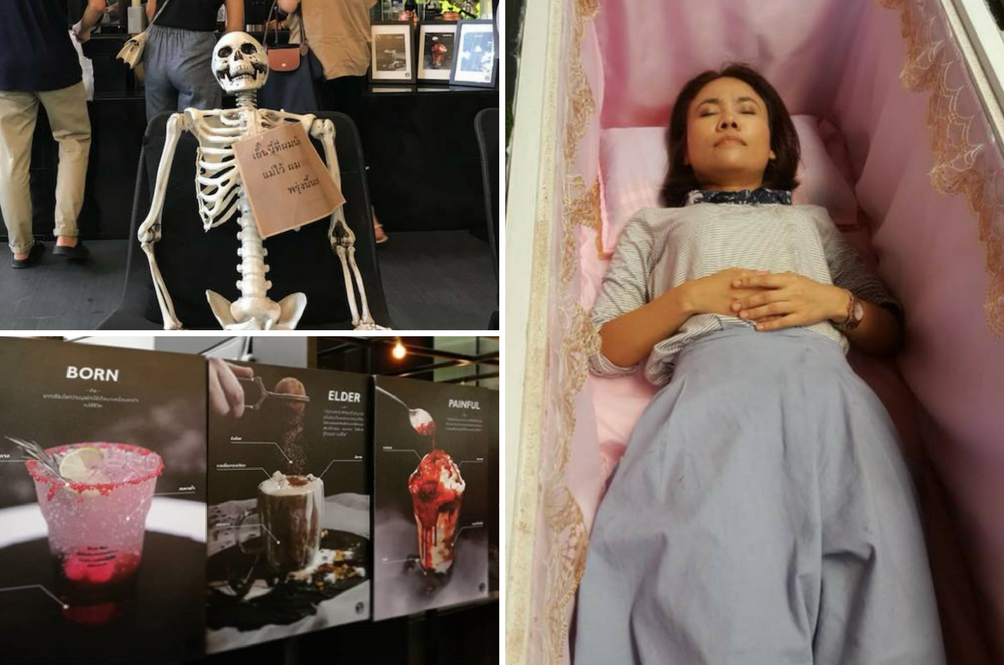 There's A New 'Death Café' In Thailand That Will Leave You Feeling Motivated Or Very Depressed