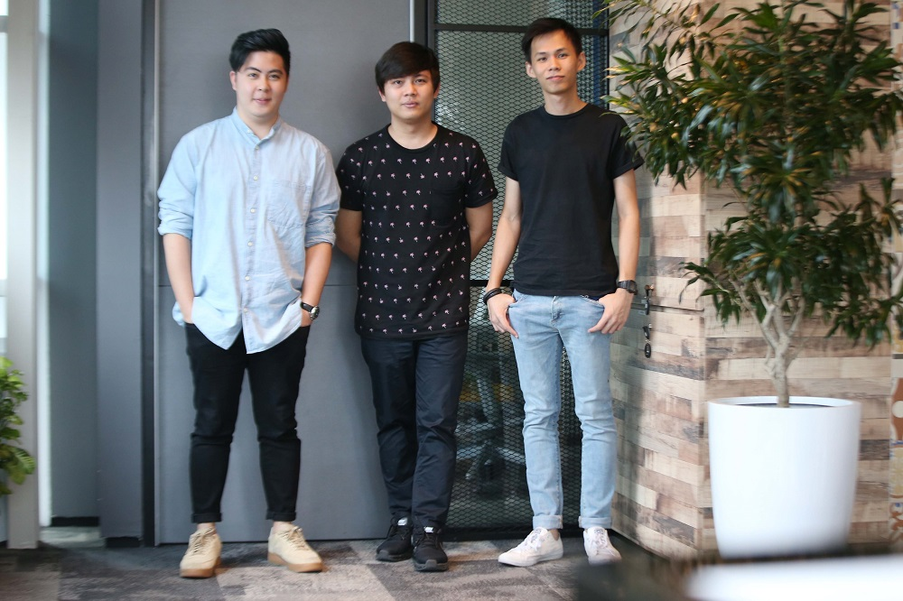 (L-R) Ming Yue, Ming Han and Bryan from The Ming Thing.