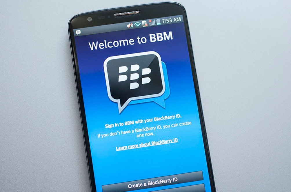 BlackBerry Messenger (BBM) Will Officially Shut Down This 31 May