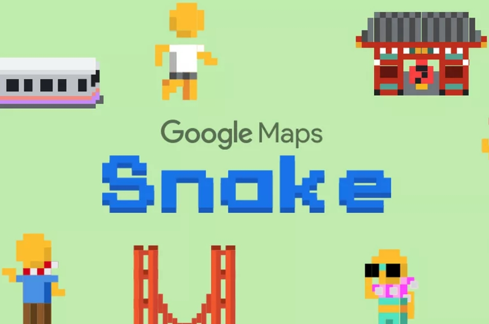 You Can Now Play The Iconic 'Snake' Game On Google Maps!