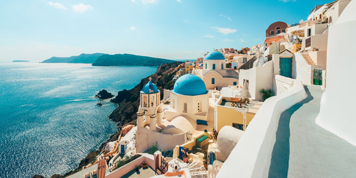 Oh, Santorini. Need we say more?