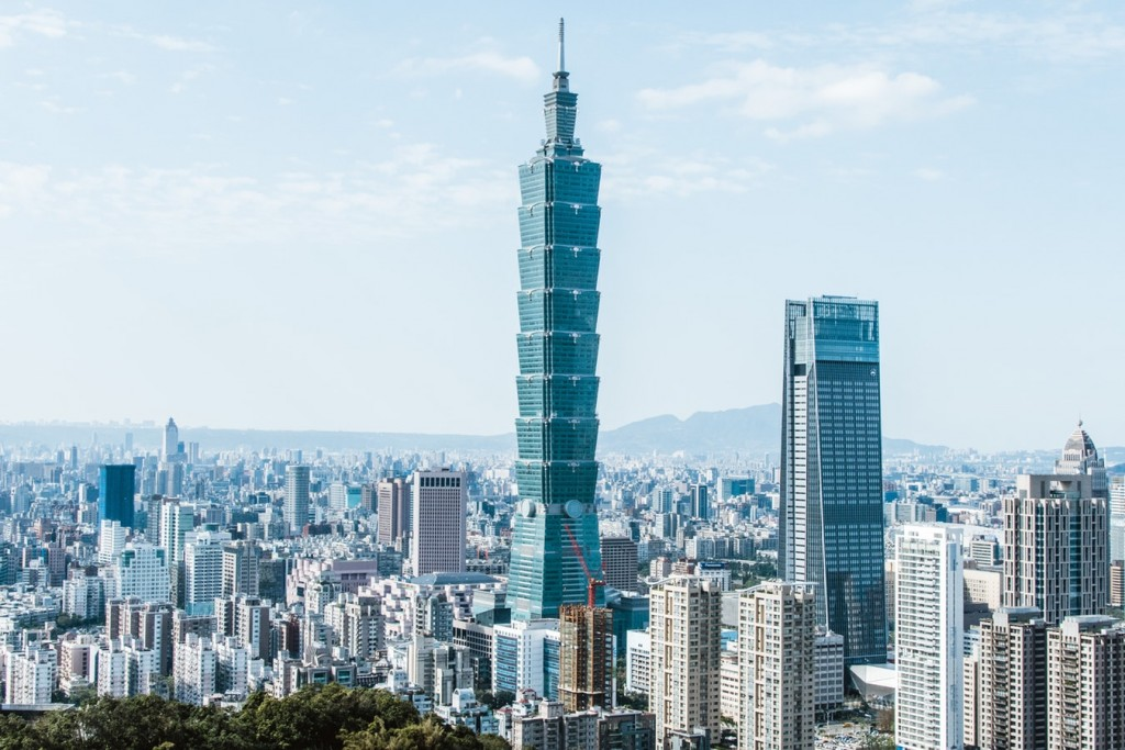 Taipei 101 was once the tallest building in the world.