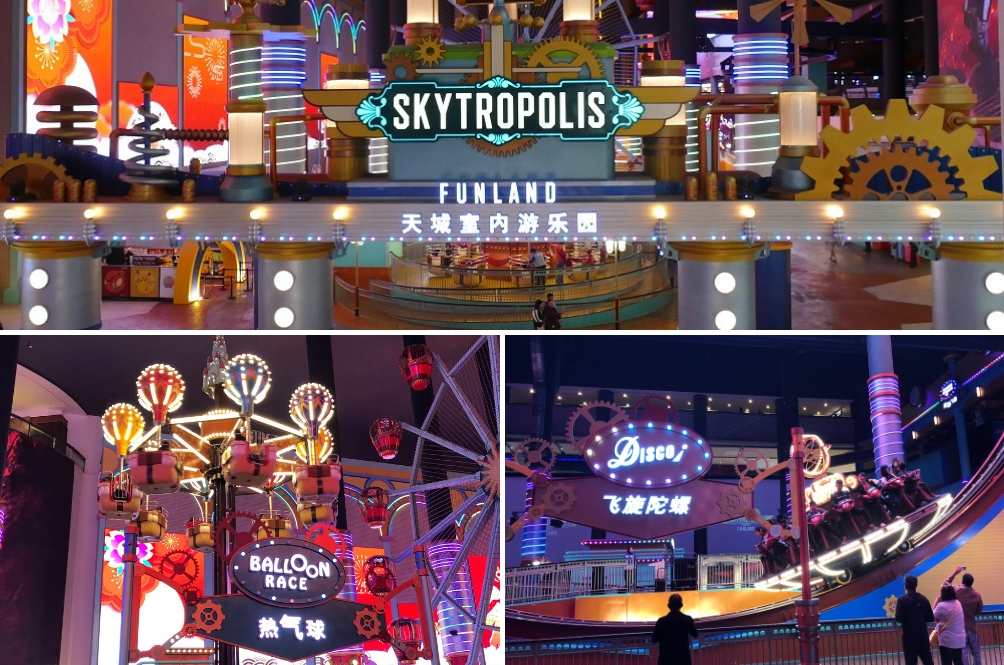Genting's First World Indoor Theme Park Is Now Skytropolis Funland