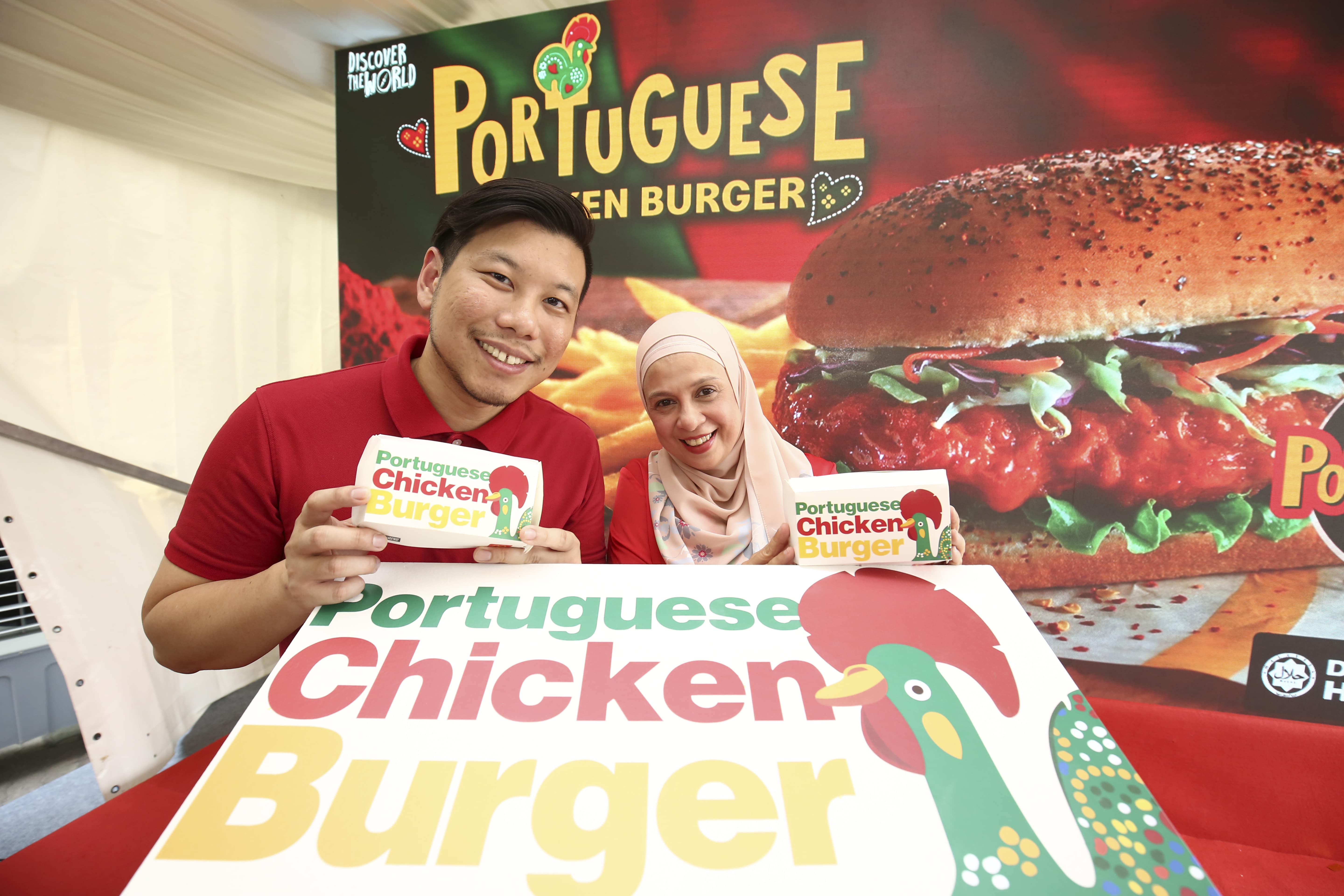 McDonald's Malaysia Marketing Director Eugene Lee and Vice President & Chief Marketing Melati Abdul Hai.