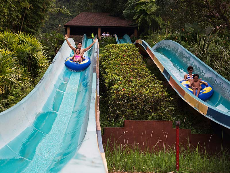 Slide down the Cliff Racer.