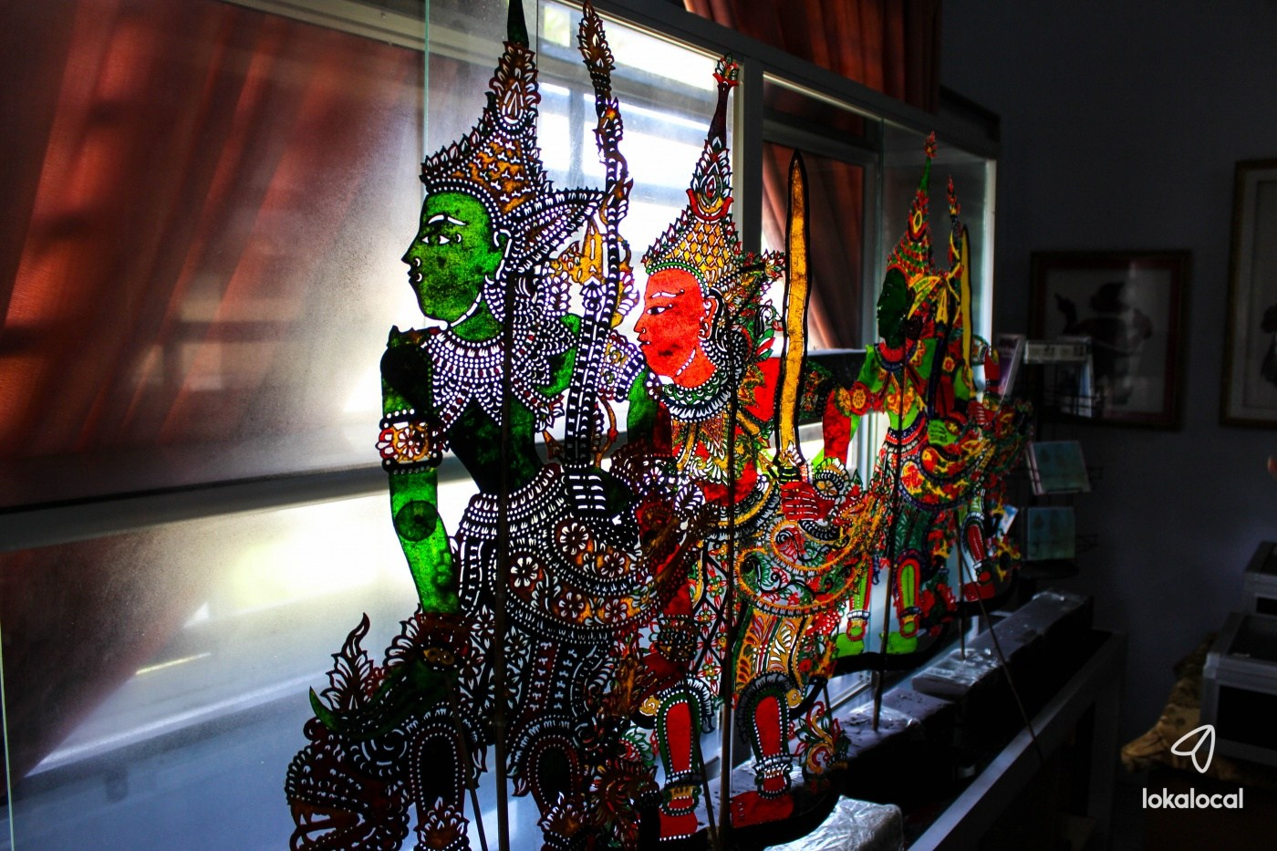 Have you personally seen a wayang kulit performance?