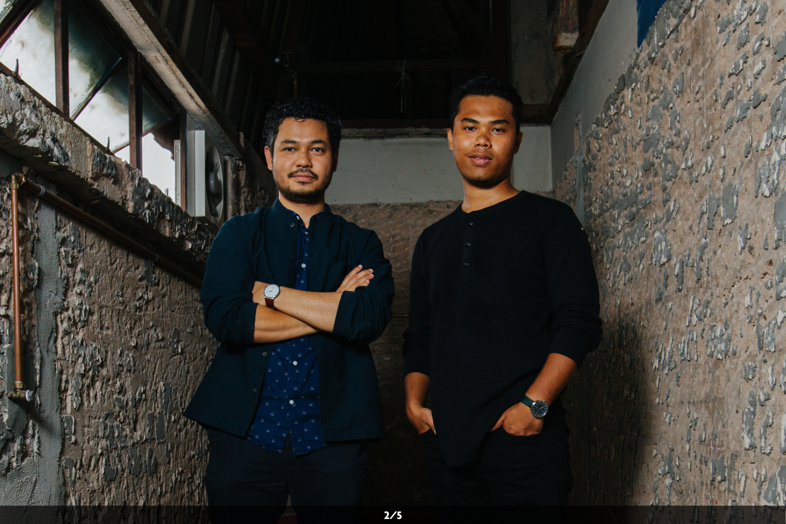 Both Fariz and Shakir try to balance art, technology and the most important element in an installation, the people.