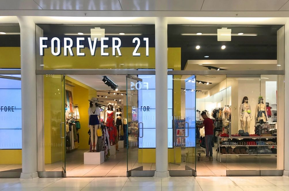 Forever 21 Files For Bankruptcy, To Close Stores In 40 Countries