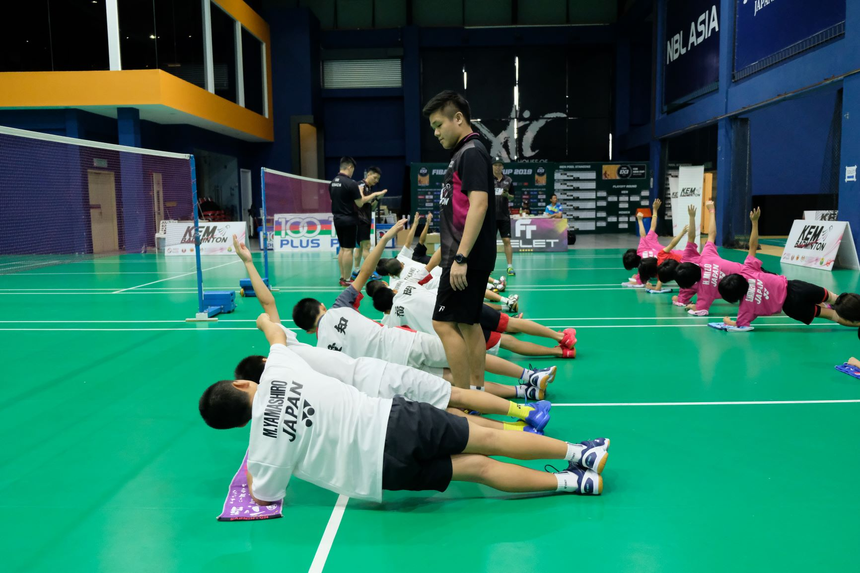 The Japanese junior players were in KL for a week to train with Astro Kem Badminton.