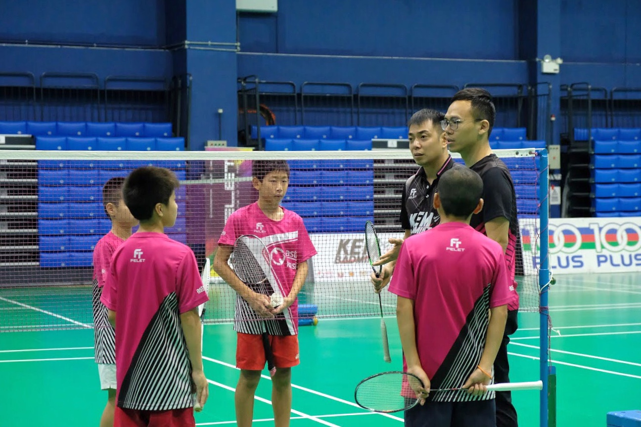 Astro Kem Badminton accepts schoolkids between 10 and 12 years old.
