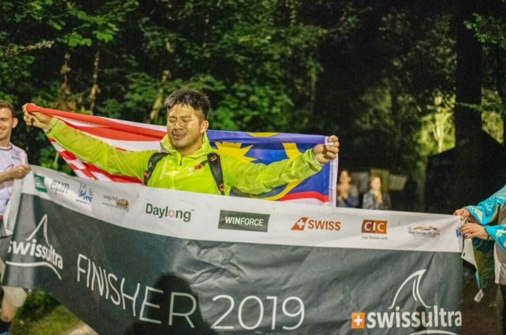 This Man Is The First Malaysian To Complete The 2,260km Swiss Ultra Deca Triathlon