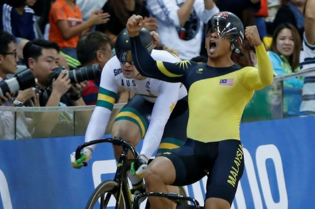 Azizulhasni Awang Is Malaysia's First Track Cycling World Champion