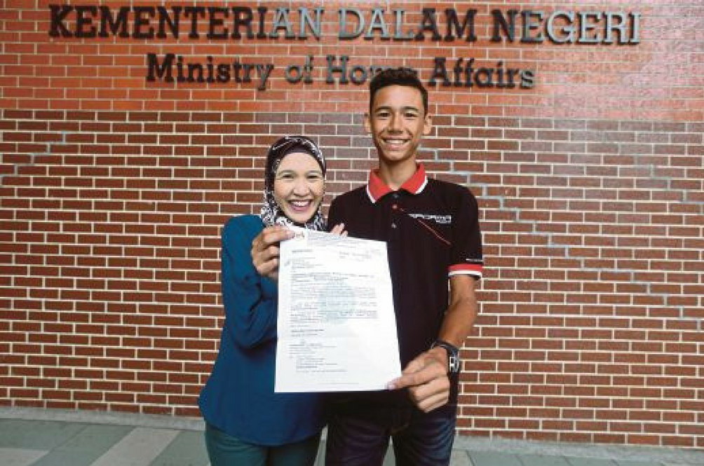 German Teen Cyclist Finally Gets Malaysian Citizenship