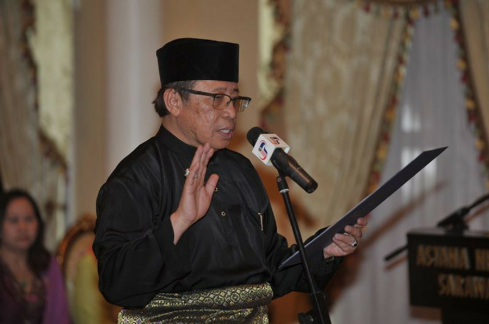 Abang Johari Openg is the Next Sarawak Chief Minister