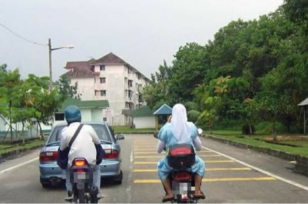 If You're An Unmarried Muslim Couple in Terengganu, Keep Your Hands to Yourself While Riding Motorcycles