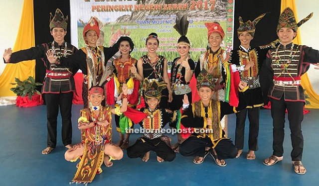 The 13 talented dancers from Sabah.