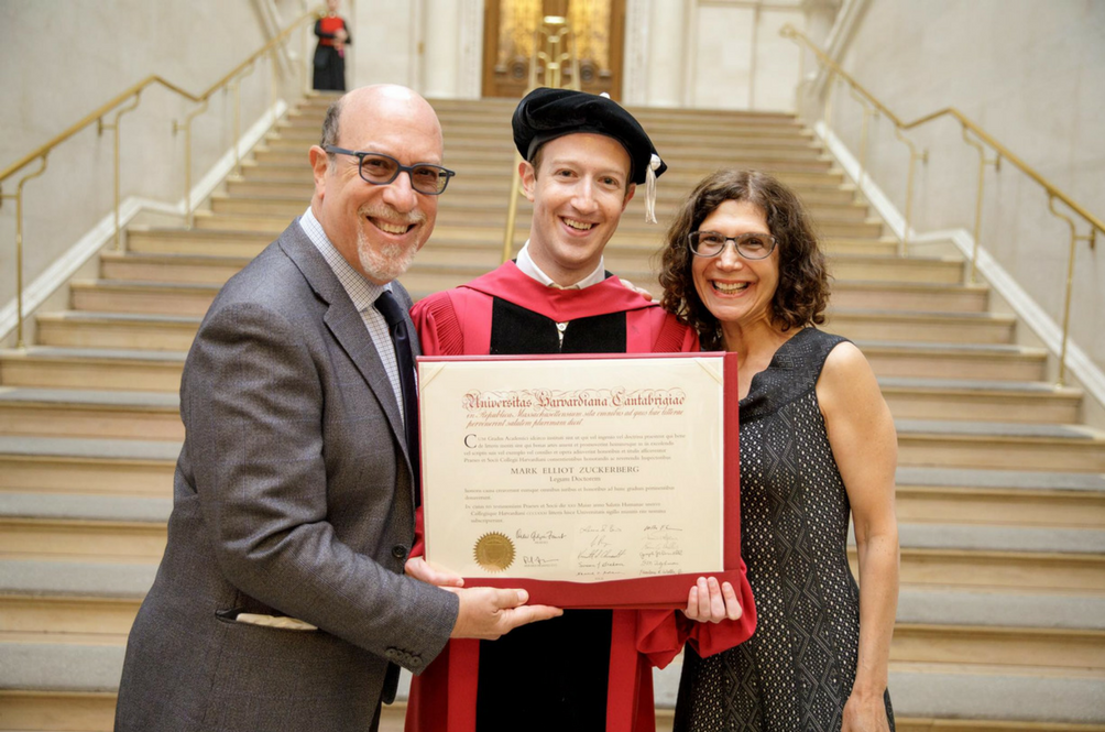 Mark Zuckerberg Just Picked Up His Harvard Degree After More Than A Decade