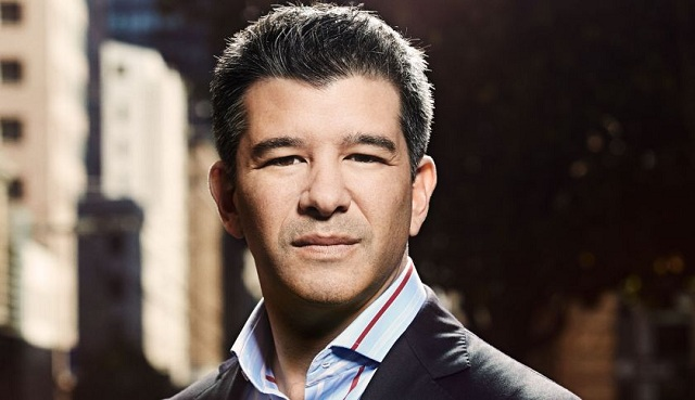 Travis Kalanick studied computer engineering at the University of California but quit before graduating.