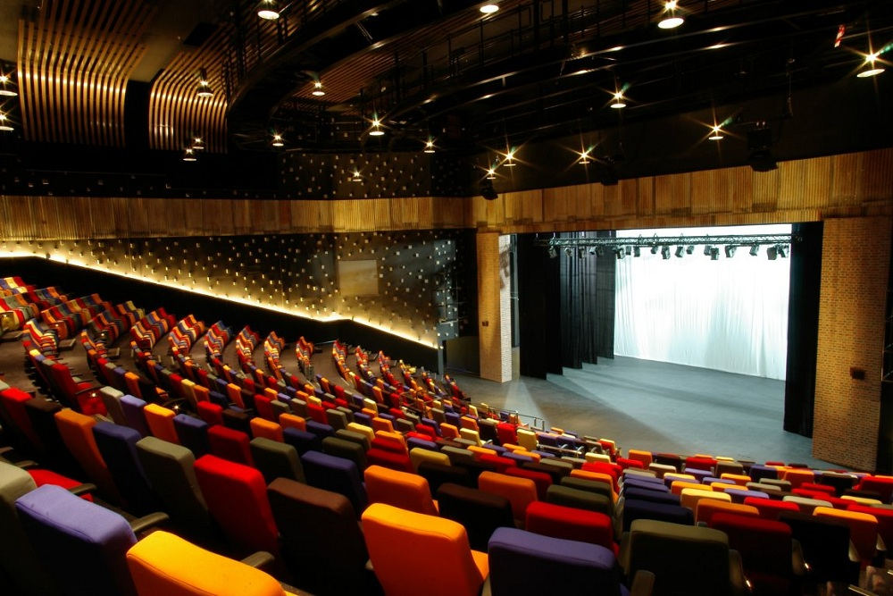 The main stage at KLPac where all the magic happens.