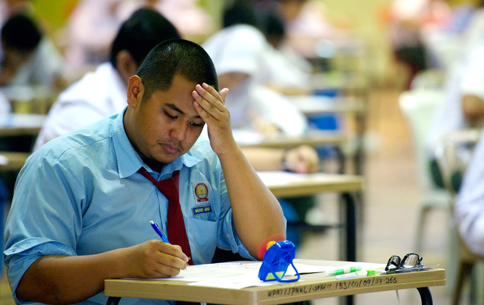 The SPM examinations have officially begun this week.
