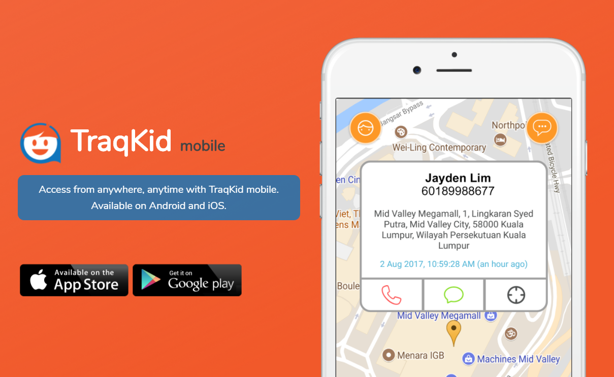 TraqKid can help parents ease your worries.