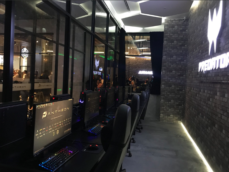 The Pantheon aims to become the top eSports centre in Malaysia.