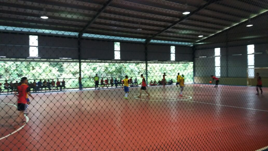 The futsal courts will also serve as multipurpose courts.