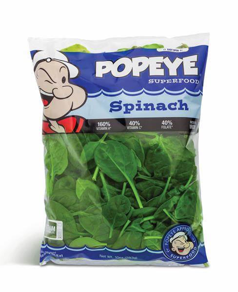 Some say that Popeye increased the Americans' spinach consumption by one third.