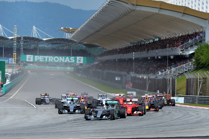 This will be your last chance to catch the F1 Grand Prix in Malaysia.