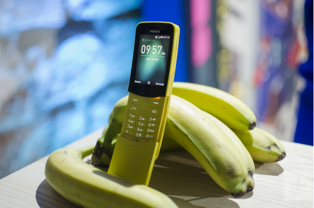 Nokia Brought Back The 'Banana Phone' And It's Like The 90s All Over Again