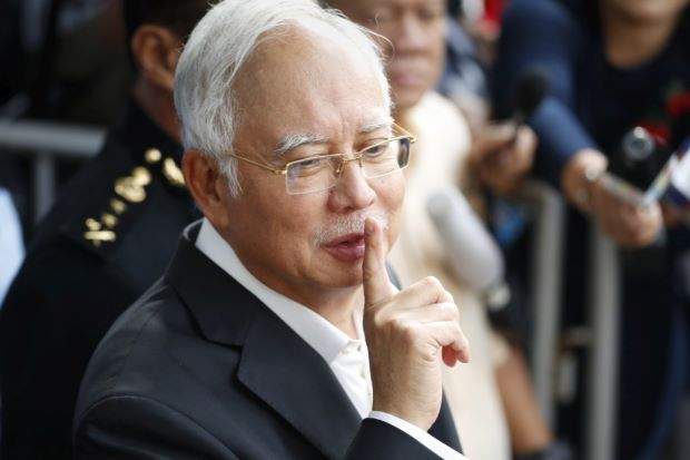 Najib may face charges of money laundering soon.
