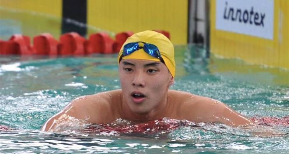 National swimmer Welson Sim made headlines last year for setting a new SEA Games record.