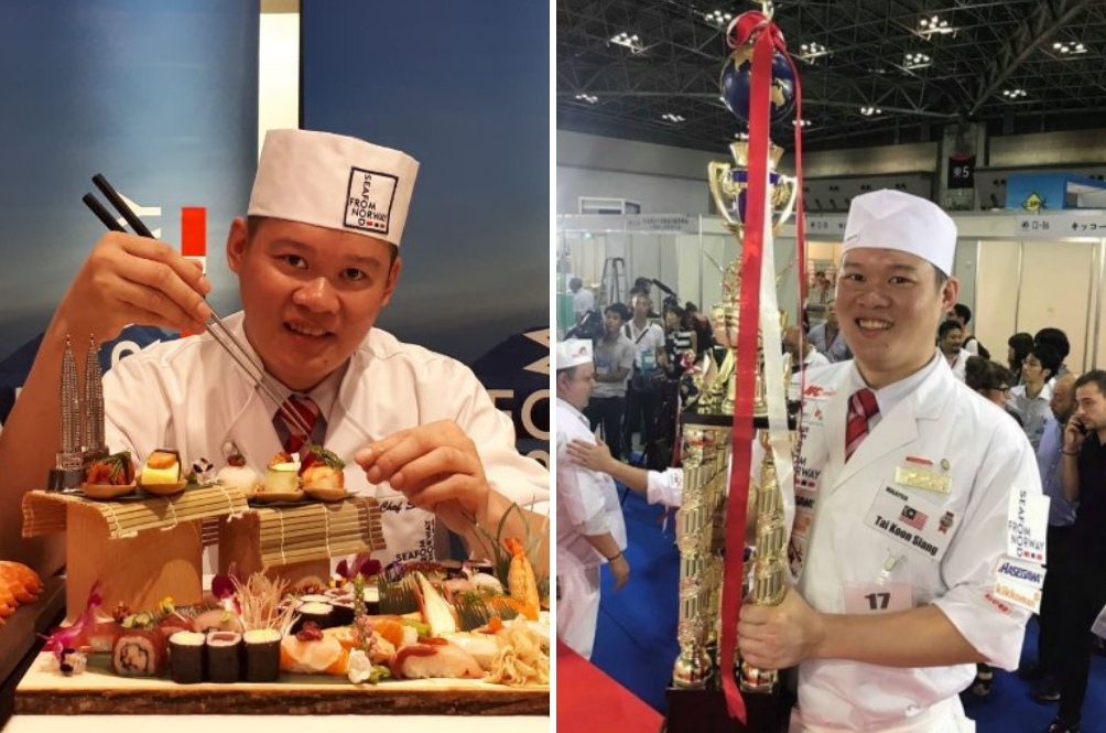 Malaysian Chef Wins World Sushi Cup 2018 In Japan